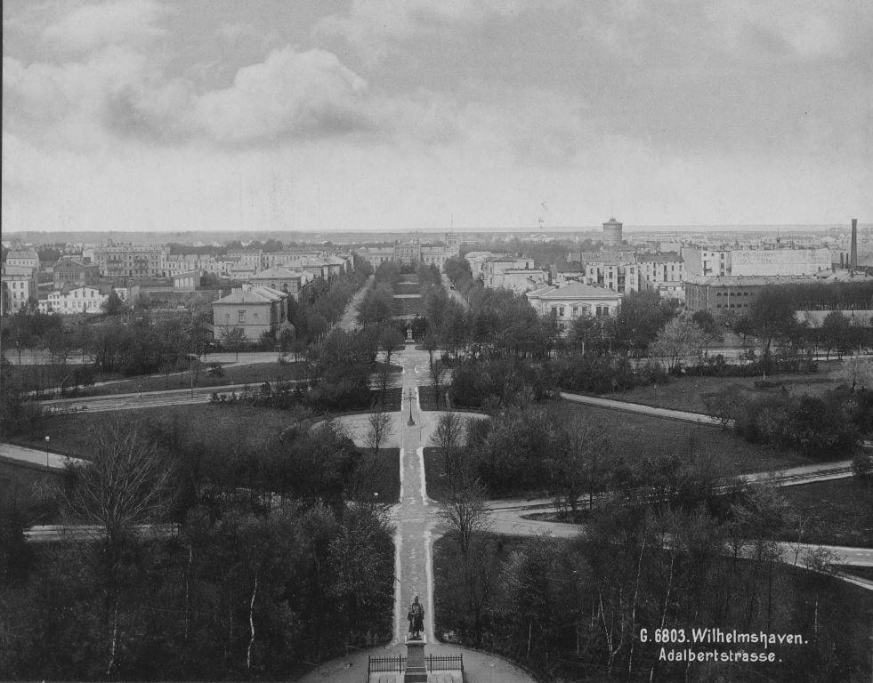 Adalbertstraße um 1900